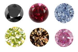 سنگ های رنگی