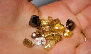الماس های معدن آرکانزاس